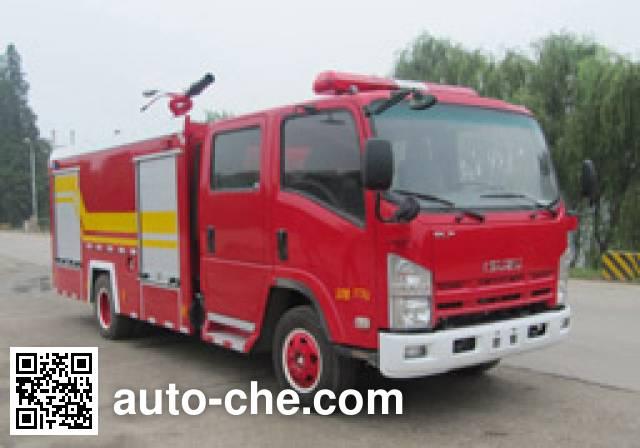 汉江牌HXF5101GXFPM30泡沫消防车