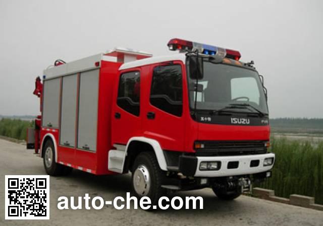 汉江牌HXF5110TXFJY80抢险救援消防车