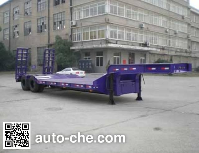 汉阳牌HY9190TDPG低平板半挂车