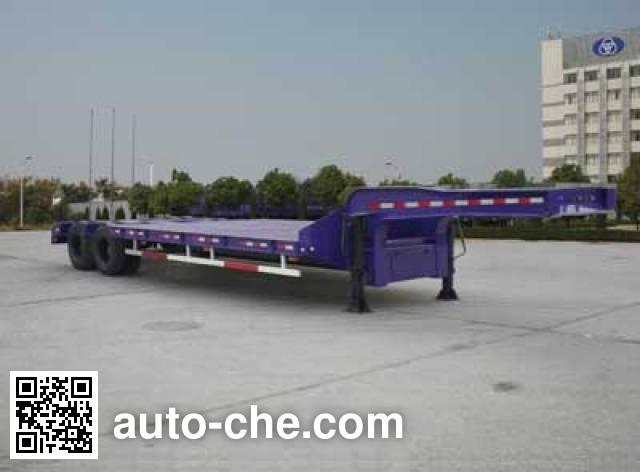汉阳牌HY9261TDP低平板半挂车