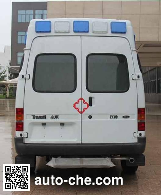 宏运牌HYD5037XJH5救护车