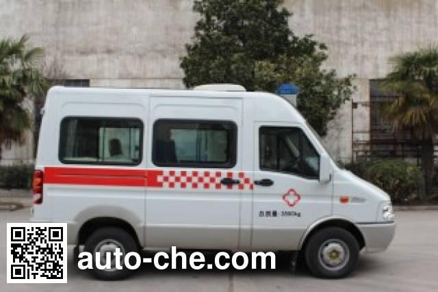 宏运牌HYD5044XJHQC救护车