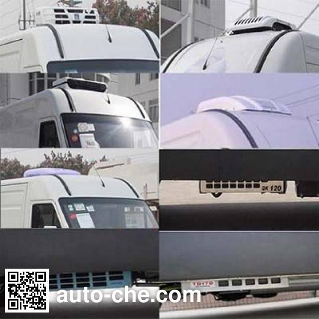 宏运牌HYD5044XLCQC冷藏车