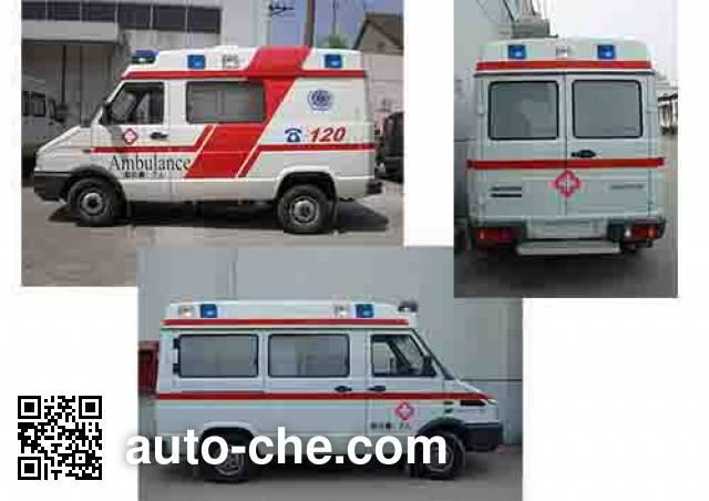 宏运牌HYD5045XJHACM救护车