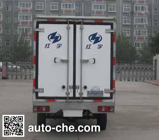 Hongyu (Henan) HYJ5024XBW insulated box van truck