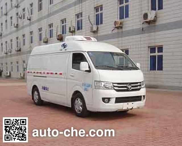 Hongyu (Henan) HYJ5030XLCB2 refrigerated truck