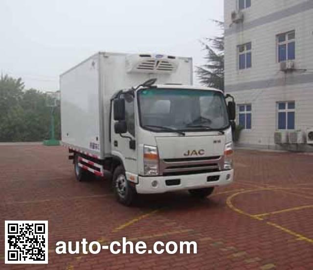 Hongyu (Henan) HYJ5040XLCB2 refrigerated truck