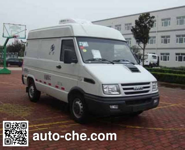Hongyu (Henan) HYJ5040XLCB6 refrigerated truck