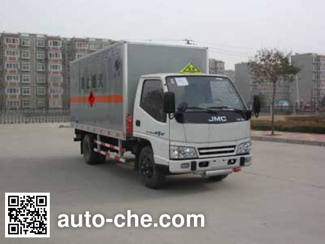 Hongyu (Henan) HYJ5043XQYA explosives transport truck