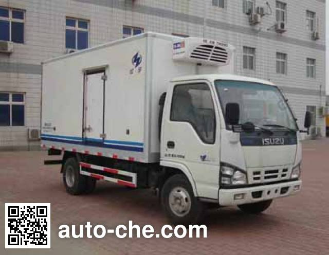 Hongyu (Henan) HYJ5050XLCA refrigerated truck