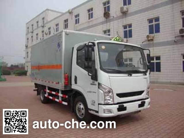 Hongyu (Henan) HYJ5040XQYB explosives transport truck