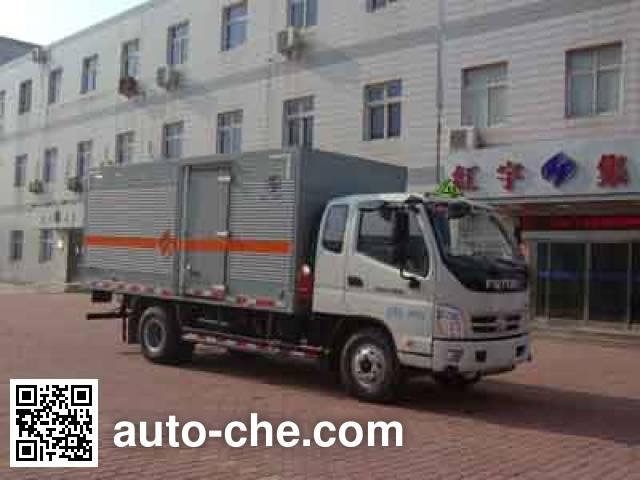 Hongyu (Henan) HYJ5100XQYB explosives transport truck