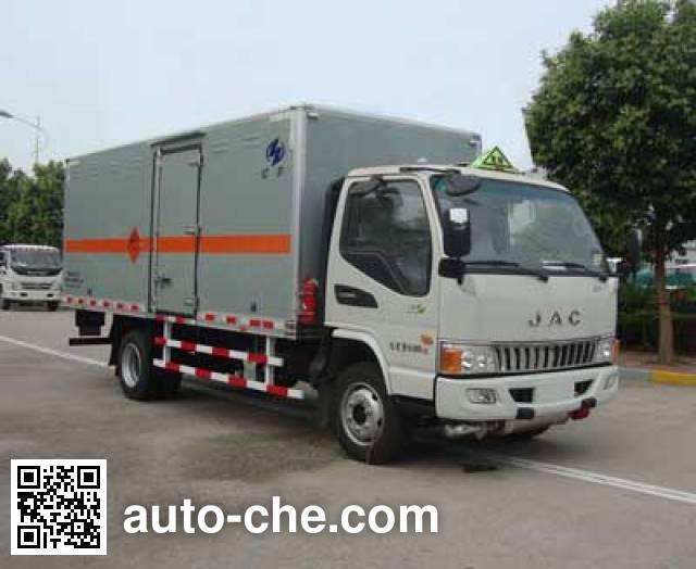 Hongyu (Henan) HYJ5100XQYB1 explosives transport truck