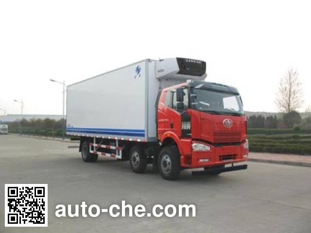 Hongyu (Henan) HYJ5251XLCA refrigerated truck