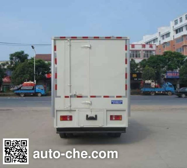 Hongyu (Hubei) HYS5040XWTKM mobile stage van truck