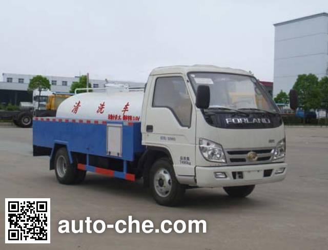 Hongyu (Hubei) HYS5070GQXB street sprinkler truck