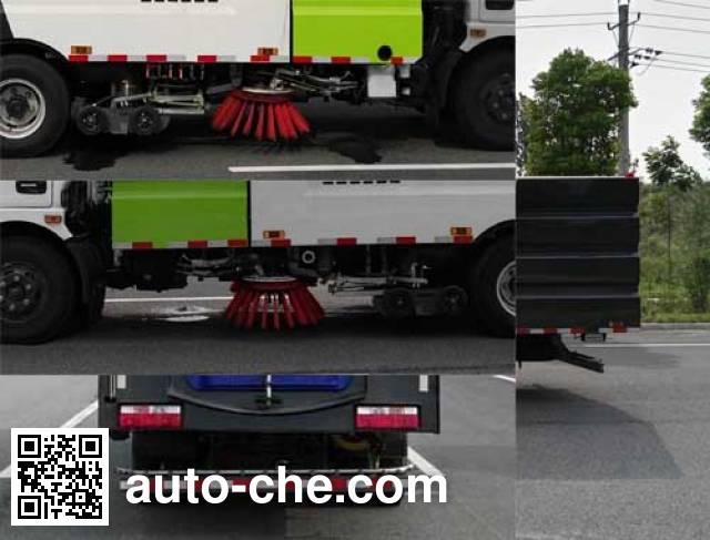 Hongyu (Hubei) HYS5101TXSE5 street sweeper truck