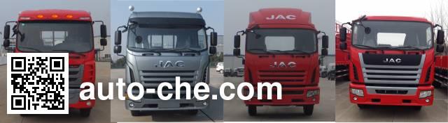 Hongyu (Hubei) HYS5120XWTH5 mobile stage van truck