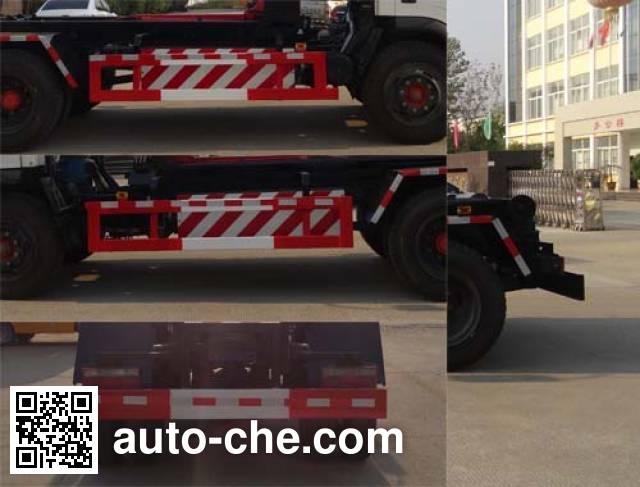 Hongyu (Hubei) HYS5120ZXXE detachable body garbage truck