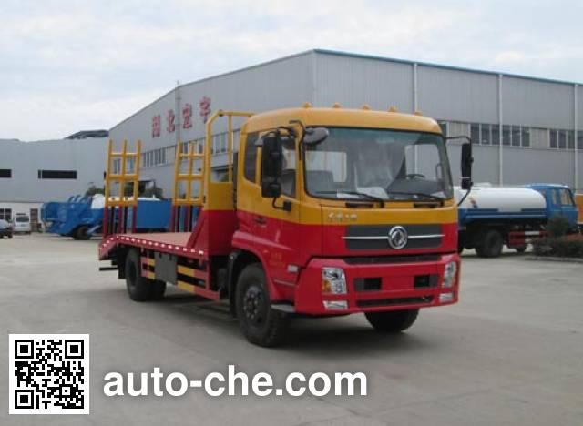 Hongyu (Hubei) HYS5160TPBD4 flatbed truck
