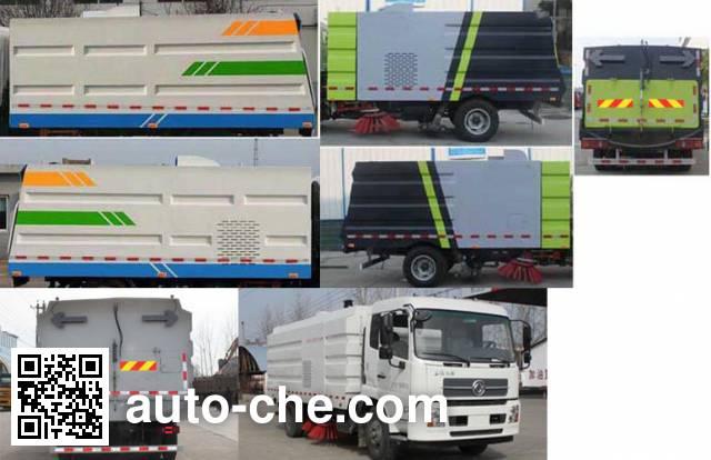 Hongyu (Hubei) HYS5160TSLE5 street sweeper truck
