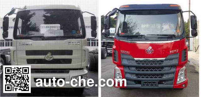 Hongyu (Hubei) HYS5161TPBL5 flatbed truck