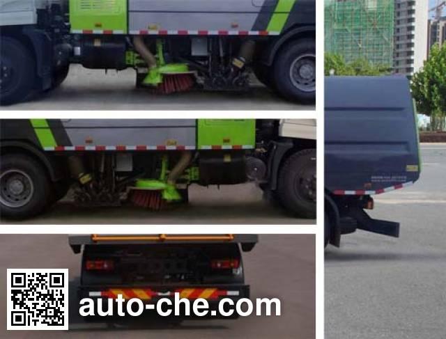 Hongyu (Hubei) HYS5161TSLE5 street sweeper truck