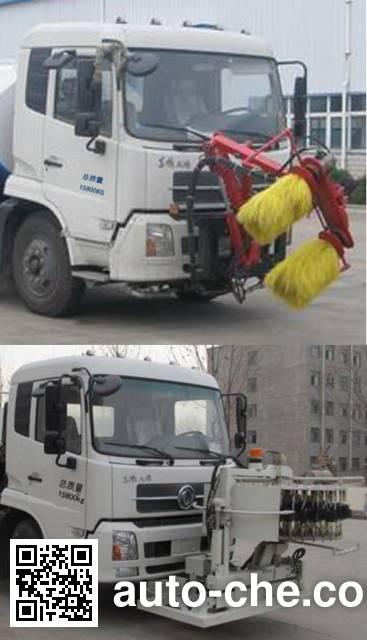 Hongyu (Hubei) HYS5163GQXE5 highway guardrail cleaner truck