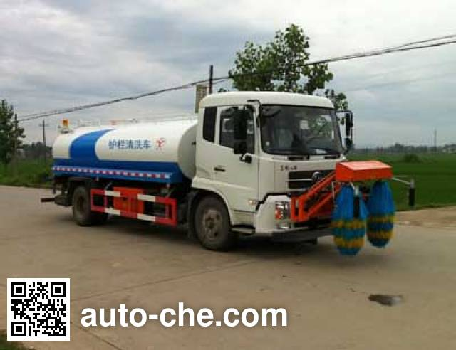 Hongyu (Hubei) HYS5166GQX highway guardrail cleaner truck