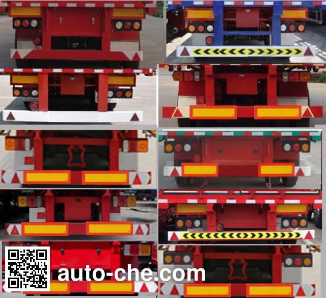 Hualu Yexing HYX9370Z dump trailer