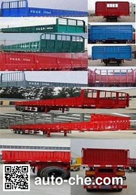 Hualu Yexing HYX9400Z dump trailer