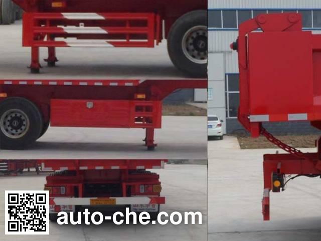 Hualu Yexing HYX9401ZH dump trailer