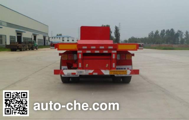 Hualu Yexing HYX9401ZZXP flatbed dump trailer