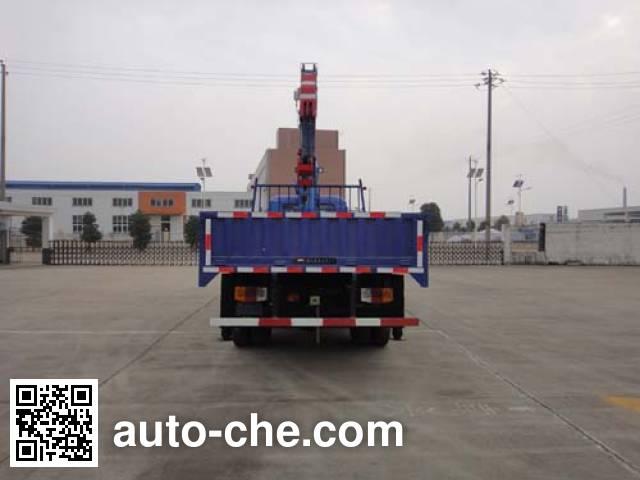 飞涛牌HZC5102JSQS随车起重运输车
