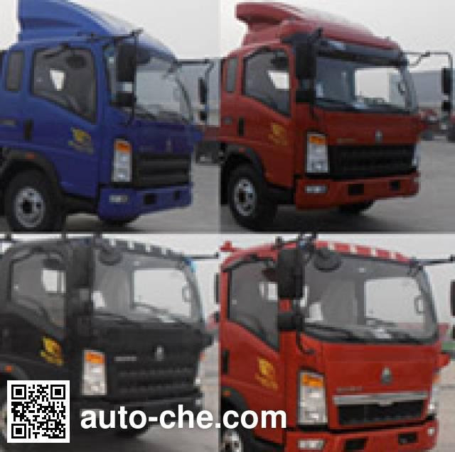 Feitao HZC5102JSQZZ truck mounted loader crane