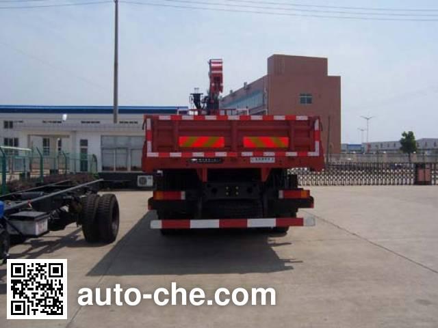 飞涛牌HZC5311JSQS随车起重运输车