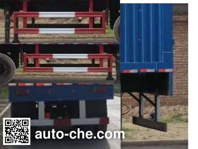 Kelier HZY9380XXY box body van trailer