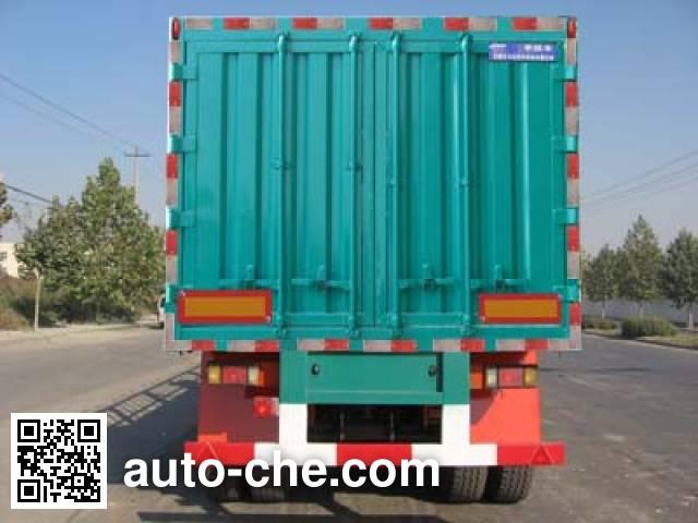 Kelier HZY9400XXY box body van trailer
