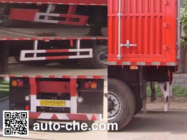 Kelier HZY9401XXY box body van trailer