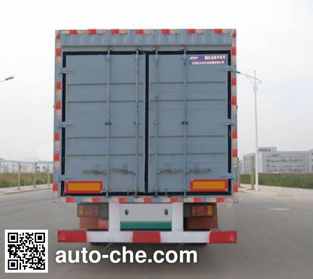 Kelier HZY9281XXY box body van trailer