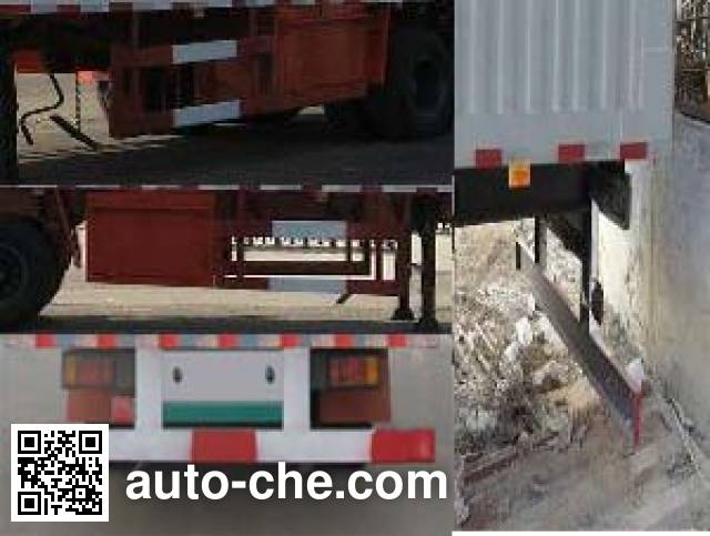 Kelier HZY9402XXY box body van trailer