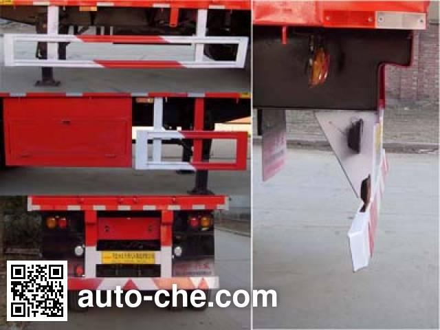 Kelier HZY9407XXY3 box body van trailer