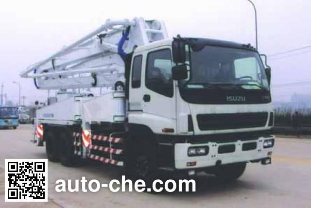 Hongzhou HZZ5250THB concrete pump truck