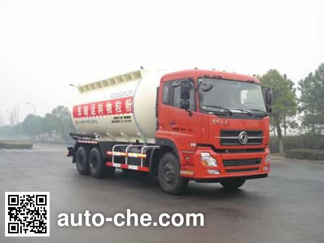 Hongzhou HZZ5253GFLDF low-density bulk powder transport tank truck