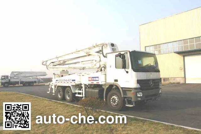 宏宙牌HZZ5260THB混凝土泵车