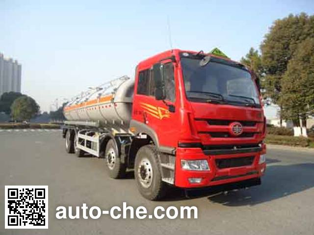 Hongzhou HZZ5310GFW corrosive substance transport tank truck