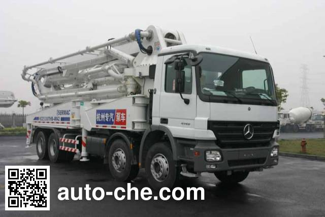 Hongzhou HZZ5330THB concrete pump truck