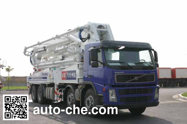Hongzhou HZZ5380THB concrete pump truck