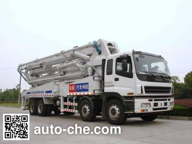 Hongzhou HZZ5381THB concrete pump truck