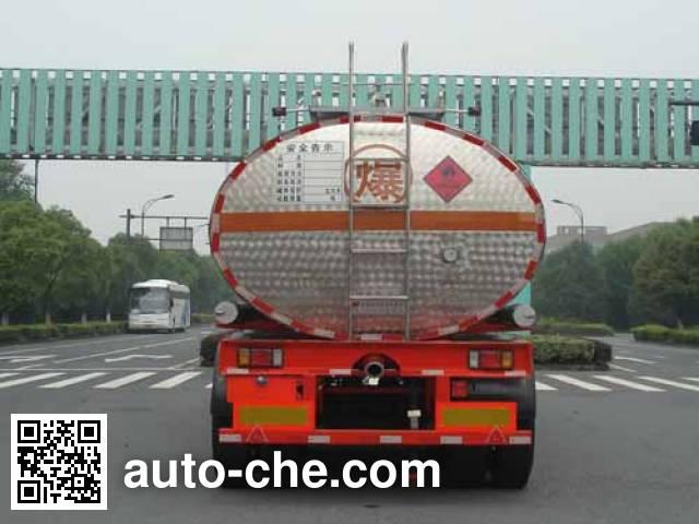 宏宙牌HZZ9400GRYA易燃液体罐式运输半挂车